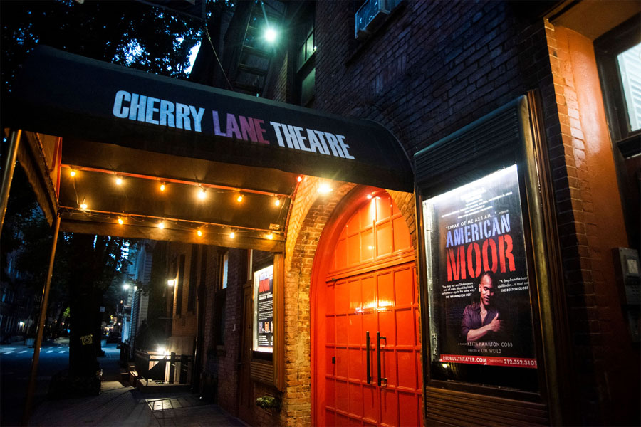 Cherry Lane theatre door